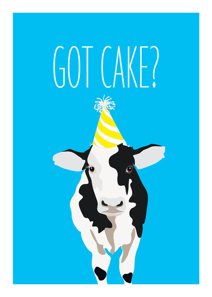 Cow card handmade cow cards funny cow birthday card bookmarktalkfo Images