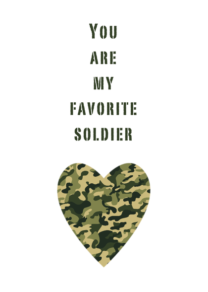 Soldier card handmade soldier cards soldier birthday card bookmarktalkfo Image collections