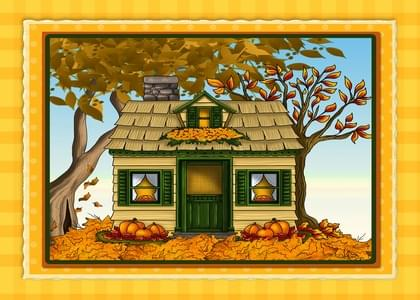 Send a Pumpkins Fall Card with your own Handwriting. Signed, sealed, delivered at no extra cost! Quality cards made in the USA. Designed by Annie Things Possible.