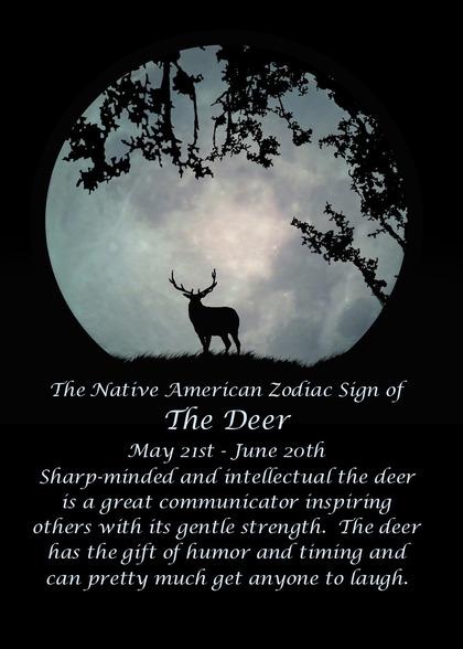 Native american card handmade native american cards compliment zodiac birthday card bookmarktalkfo Choice Image
