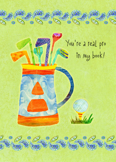Send A Golf Funny Card With Your Own Handwriting Signed Sealed Delivered At