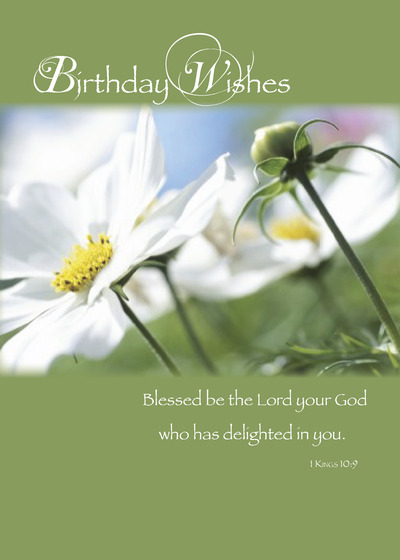 Religious cards amp religious card ideas from signed religious daisy birthday card bookmarktalkfo Choice Image